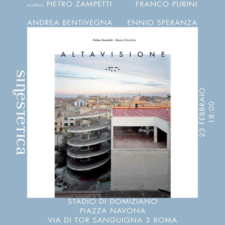 Sintetica presenta Altavisione di M. Benedetti e A. Dimartino