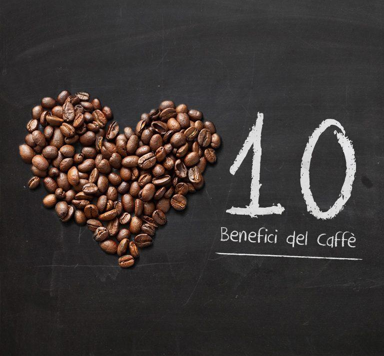 Caffè: 10 benefici per la salute che non conoscevi