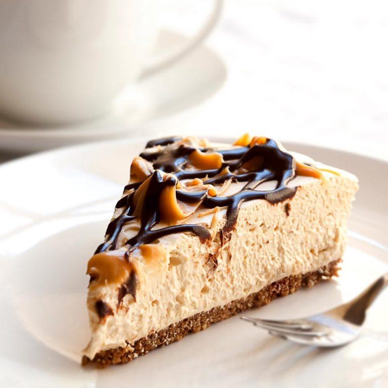 """Ricette con caffè: Cheesecake """"a freddo"""" con cuore di caffè"""